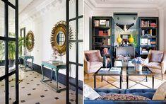 old office spaces have been restored and transformed into interior designerSoledad Suárez de Lezo's elegant Madrid home