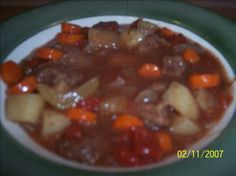 Amish Country Stew