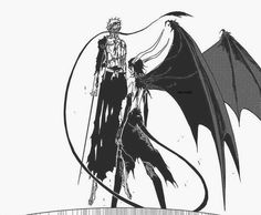 "From the Hueco Mundo arc against the Espadas, Ichigo Kurosaki and Ulquiorra Cifer from the anime, ""Bleach"" Bleach Drawing, Bleach Art, Bleach Manga, Manga Anime, Anime Art, Shinigami, Tensa Zangetsu, Kenpachi Zaraki, Bleach Characters"