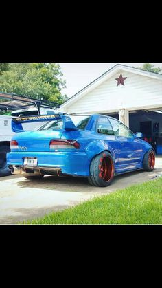 modified cars subaru impreza muscle cars japan dream garage