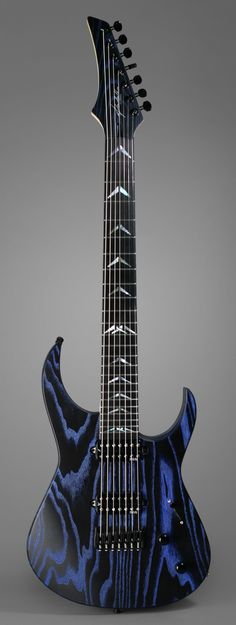 Padalka CS-7 Abyss (2015) - Masterbuilt guitar made in Russia by luthier Simon Padalka -White ash 2 pieces solid body - Fokin Pickups Spirit set