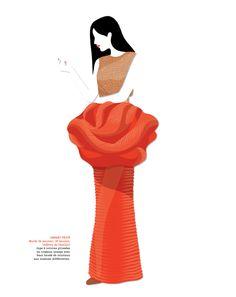 Mathilde Crétier — overview Illustrations, Digital Illustration, Disney Princess, Disney Characters, Image, Couture, Shirt, Virginia, Dress Shirt