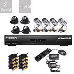 超低価格8CH H.264 CCTV DVRキット(8 CMOSの暗視カメラ) – JPY ¥ 22,067
