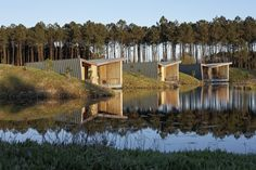Gallery of Eco-lodges_les Echasses / Patrick Arotcharen Architecte - 14
