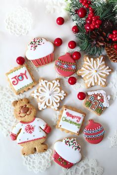 Christmas icing cookie lesson
