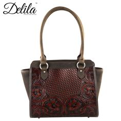 Delila 100% Genuine Leather Tooled Collection by Montana West (LEA-6014)