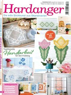 See the pretty Special Anna Hardanger magazine A382 at Nordic Needle