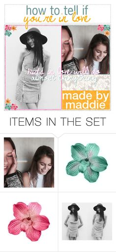 """how to tell if you're in love"" by ic0ns-and-tips ❤ liked on Polyvore featuring art and maddiemaddstips"