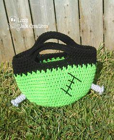 Frankenstein Trick or Treat Bag Pattern