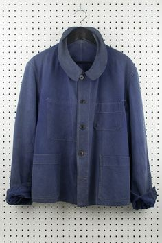 Vintage 30's blue twill chore jacket - Clothing and Home Goods in Los Angeles - Virgil Normal  - Virgil Normal - Jackets