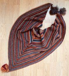 Crochet Wool, Shawl, Tassels, Triangle, Knitting, Art, Fashion, Art Background, Moda