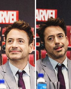 """Robert Downey Jr. in Moscow on the """"Iron Man 3"""" international press tour."""