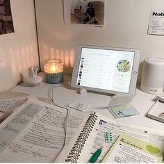 Study Desk, Study Space, Studyblr, Study Corner, Study Room Decor, Study Pictures, Study Organization, School Study Tips, Study Areas