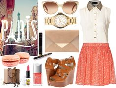 """The first time I saw Paris."" by thesymmetricswan on Polyvore"