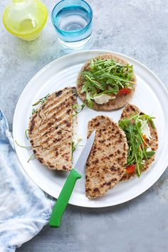 Zabpelyhes piadine | Dolce Vita Életmód Dolce Diet, Healthy Weight Loss, Avocado Toast, Risotto, Healthy Recipes, Healthy Foods, Chips, Homemade, Meals