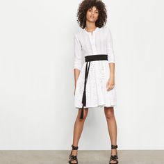 Robe en dentelle stretch - Robes - Maje.com