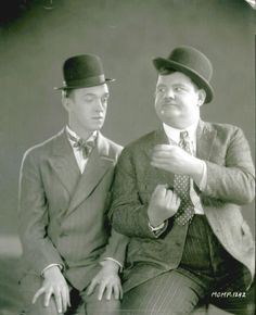 Studio Picture Laurel and Hardy