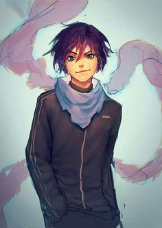 Hey!!! Are you a ghoul Yato??? You seem to have a kagune!! XD