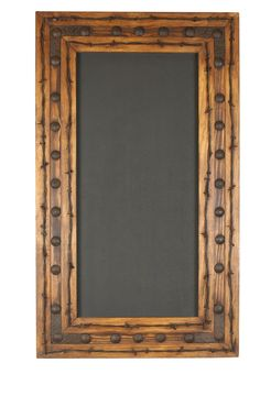 Rancho Adobe Chalkboard -20x34 inches-Handmade-Barbed Wire-Western-Spanish-Wall-Home Decor-NEW by RanchoAdobe on Etsy