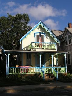 Gingerbread Cottage at Martha's Vineyard.
