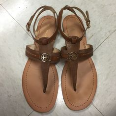 Tommy Hilfiger Very cute and in amazing condition. Only worn a few times. Lorine sandal. Tommy Hilfiger Shoes Sandals
