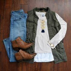 Great early Fall outfit!!                                                       …