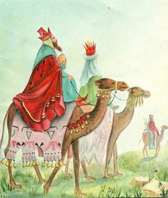"""We Three Kings"":To wish you blessings at Christmas time and throughout the coming year"