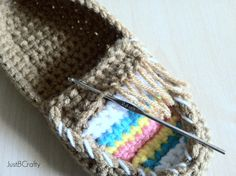 Good morning, I hope you are having an awesome Wednesday so far!  I haven't had a post in a little while because I have been very busy crocheting/tweaking these adorable tribal moccasins, plu…