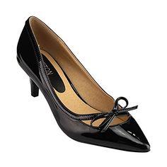 5fcd1e2ac797 Beston Women s Pointed Toe Low Heels Bowknot Deco Pump