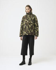 White Ducks, Duck Down, Winter Jackets Women, Fur Trim, Military Jacket, Quartz, Normcore, Collection, Fashion