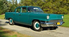 1957-58 Studebaker Scotsman Sedan...meant to be a striped down, bare bones car for the masses. Retailed at less than $1800.00...