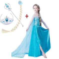 $8.29 (Buy here: https://alitems.com/g/1e8d114494ebda23ff8b16525dc3e8/?i=5&ulp=https%3A%2F%2Fwww.aliexpress.com%2Fitem%2FPrincess-Girl-Dress-kids-Baby-Girl-Dress-Children-Clothing-fever-elsa-anna-dress-Girls-Cosplay-Costume%2F32530048402.html ) Christmas Girl Dress For New Year Children Clothing Cosplay dress for girl Cosplay elsa dress Christmas Costume for girl Clothes for just $8.29