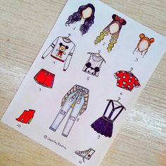 18 New Ideas For Drawing Clothes Outfits Girls Art Dress Drawing, Drawing Clothes, Outfit Drawings, Disney Style, Disney Art, Disney Theme, Social Media Art, Arte Fashion, Fashion Design Drawings