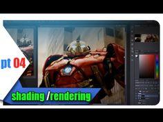 Acompanhe todo meu processo de pintura! Neste último vídeo shading e rendering. Farei, no futuro, um tutorial à parte sobre rendering (algo que, pra falar a ...