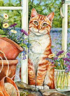 Gallery.ru / Фото #33 - Милые кошечки Debbie Cook - Anneta2012