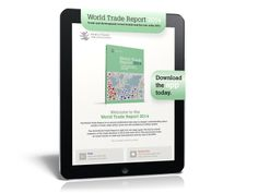 Find out more. Download the #WTO World Trade Report 2014 APP for your tablet.  The app includes the full text of the Report plus the underlying data for all charts and tables in the Report. It also contains a video and photos of the launch event.  The app can be downloaded from the App Store and Google Play for viewing on your iPad or Android tablet.