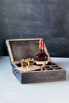 Reclaimed Whiskey Barrel Dresser Top Valet