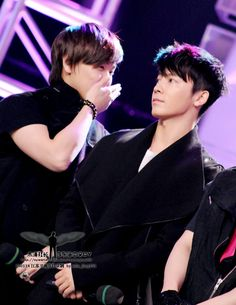 Sungmin and Donghae