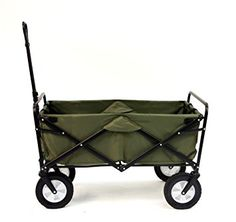 Amazon Com Mac Sports Collapsible Folding Outdoor Utility Wagon Blue Patio Lawn Garden With Images Folding Wagon