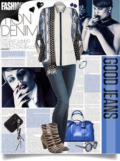 """""""Good Jeans"""" by designsbytraci on Polyvore"""