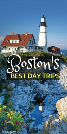 Awesome Day Trips from Boston You Should Take ASAP : The city of Boston is the perfect gateway to visiting the rest of New England. Here are 5 awesome day trips from Boston to inspire a road trip adventure. Boston Travel NewEngland Awesome Trips from East Coast Road Trip, Road Trip Usa, Florida Keys, Day Trips From Boston, Boston Travel Guide, Boston Vacation, Voyage Canada, Las Vegas, New England Travel