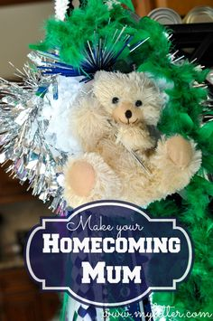 How To Make A Homecoming Mum! A Texas Tradition! - MyLitter - One Deal At A Time