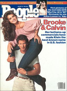 People magazine, January 18, 1982 — Brooke Shields & Calvin Klein