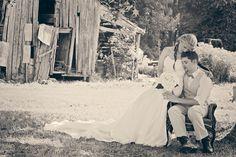 first wedding at Pritchard Farm Venue