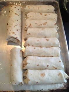 Freezer burritos for