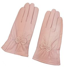 Sandy Ting Simple Sytle Women Winter Warm Lambskin Driving Leather Gloves Xlarge Light Pink >>> For more information, visit image link. (This is an affiliate link)