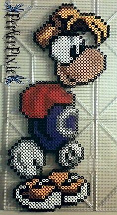 Rayman perler beads by PerlerPixie