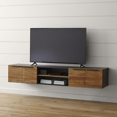 All Modern Floating Tv Stand.Mid Century Modern Retro Floating Media Console With . Home and Family Floating Media Console, Floating Tv Stand, Floating Shelves, Floating Tv Unit, Open Shelves, Wall Shelves, Ikea Tv Stand, Tv Stand Unit, Muebles Rack Tv