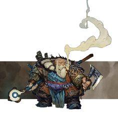 Dool-Yoron (Dwarf seeker) by Konstantin-Vavilov.deviantart.com on @DeviantArt
