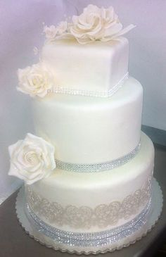 Wedding Cake by Lixoudis Bakery Santorini